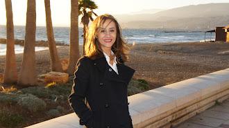 Isabel Cruz, en Almería