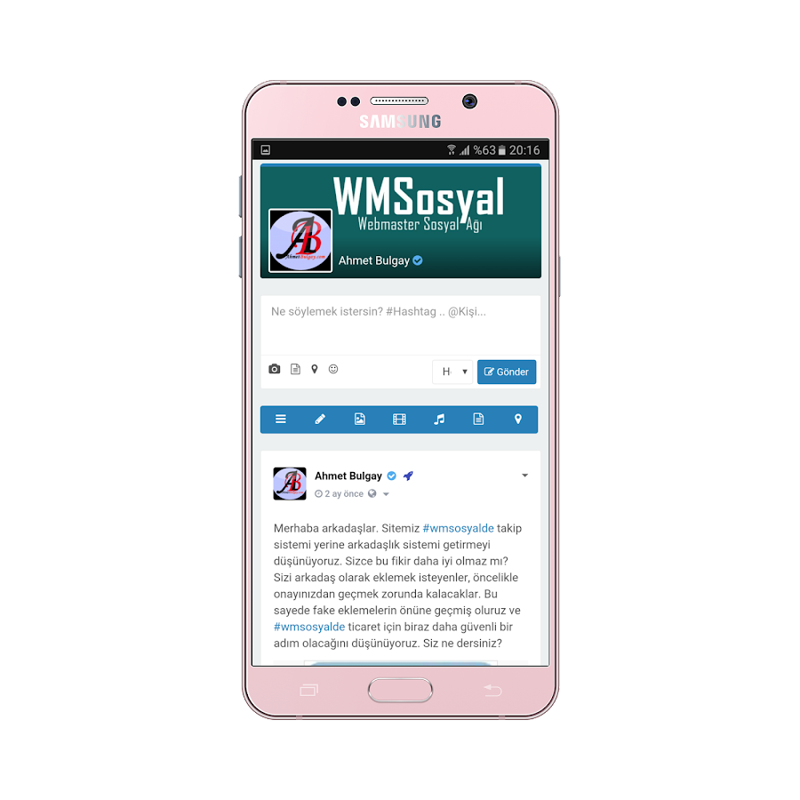 WMSosyal.net- screenshot