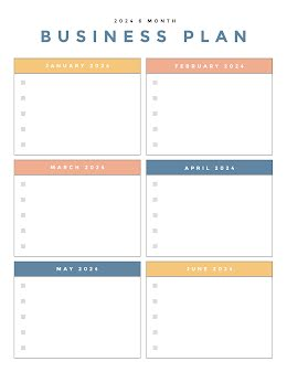 Colorful Document - Business Plan item