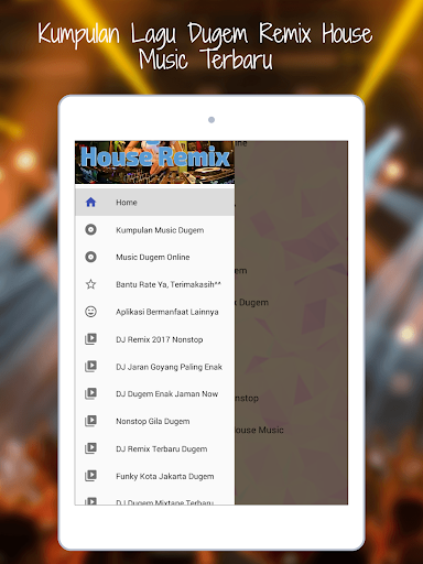 DJ Dugem Terbaru House Remix 2018 OFFLINE 1.0 screenshots 5