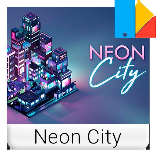 Neon City Xperia™ Theme