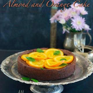 Flourless Chocolate Almond Cake Recipe