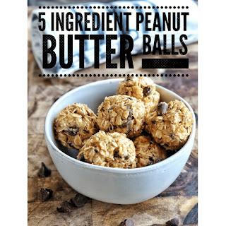 Oatmeal Peanut Butter Balls Recipe