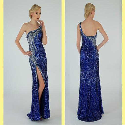 2016イブニングドレス1