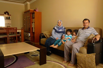 Photo: Gülistan, poet and writer and Nevzat Eminoğlu, academic and teacher at the Department of Kurdish Language and Literature at Alparslan University, with their children in Muş, 2014