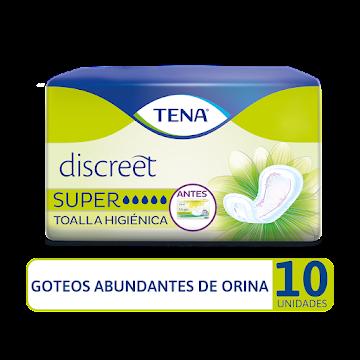 Toalla Higiénica TENA Discreet Super X10