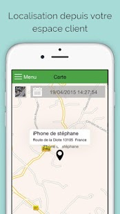 Family Tracker Traceur Android Capture d'écran