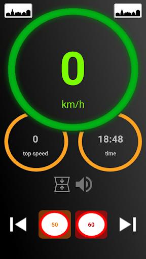 Speedometer gps Screenshot