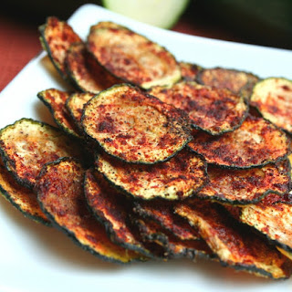 Zucchini Chips with Smoked Paprika.