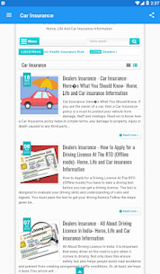 Car Insurance InformationApp Download For Android 1