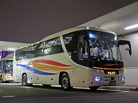 京浜急行バス「エディ号」阿南系統 3109 品川BTにて