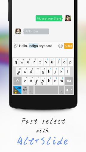 Download indigo VPN Keyboard - emoji, copy/paste & VPN Exp