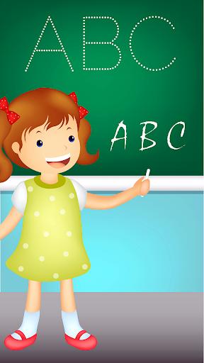 幼児のABCはドットに参加
