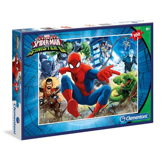Spiderman Pussel Kids Special Collection 100 bitar