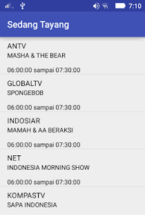 Jadwal Acara TV- screenshot thumbnail