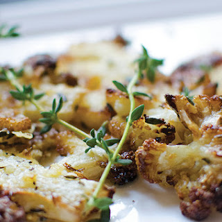 Baked Cauliflower with Parmesan