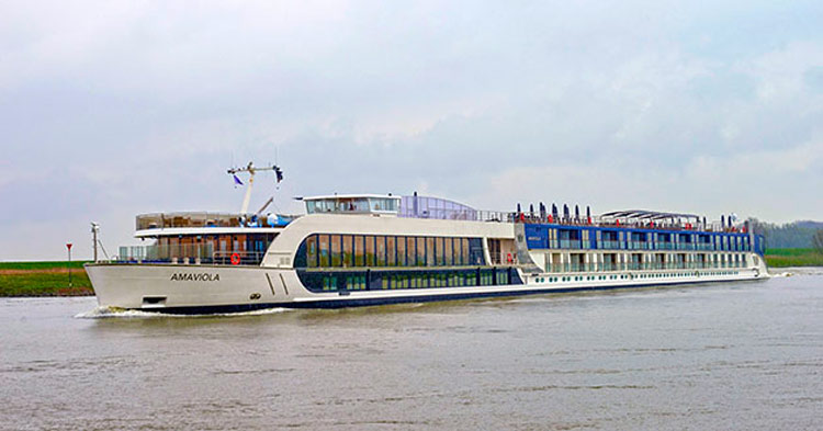 AmaViola, designed in partnership with Adventures Disney, sails the Danube.