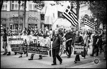 Photo: Solidarität mit Griechenland