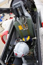 Photo: TA-4J - vystřelovací sedačka, nyní nefunkční. Ale Skyhawk má teď zbrusu nový motor z Intrudera, tak to nevadí.