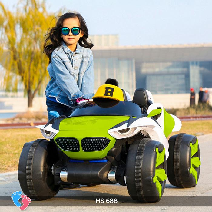 Xe ô tô điện địa hình cho bé hs-688 10