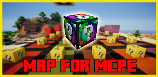 Lucky Block Race Map for MCPE for PC
