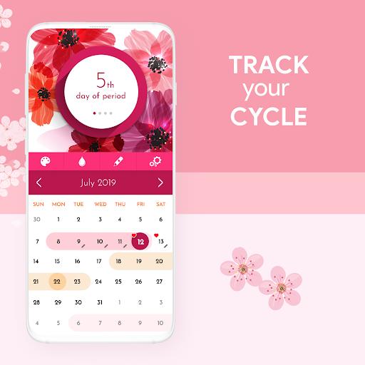 My Calendar - Period Tracker screenshot 1