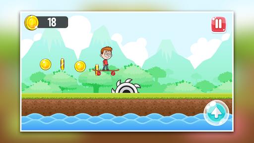 Télécharger Little Boy Run and Jump Adventure game APK MOD (Astuce) screenshots 4
