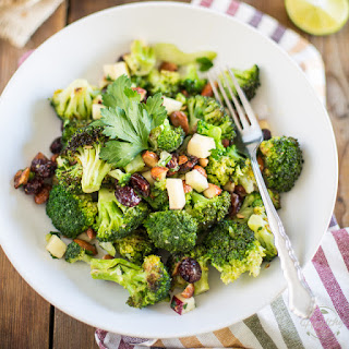 Oven Roasted Broccoli Salad