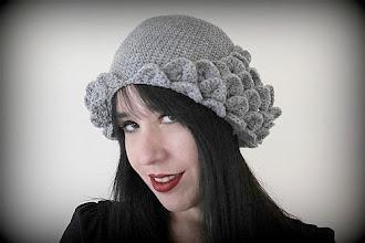 Photo: http://bonitapatterns.com/store/hats/crocodile-stitch-flapper-hat-crochet-pdf-pattern