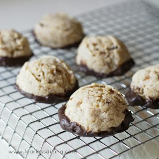 Gluten Free Chestnut Cookies.