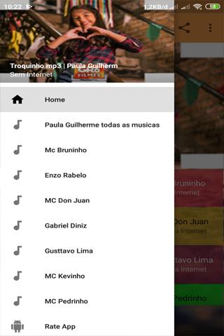 Troquinho mp3 | Paula Guilherme 1.1.1 screenshots 2