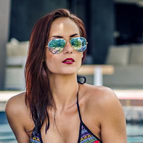 charne by Gerrit de Graaff - People Portraits of Women ( girl, beautiful, hot, beauty, bikini, nikon, sunglasses, photography, photooftheday )