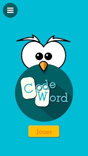 Codeword - Mots codés gratuits Capture d'écran