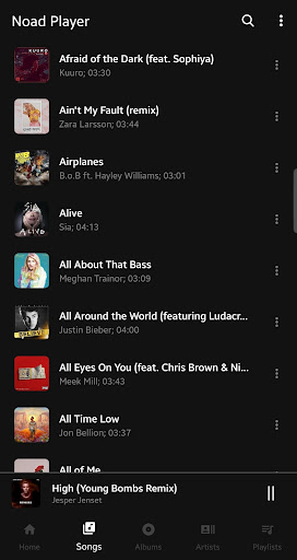 Noad Music Player (open-source) 0.9.51 screenshots 2