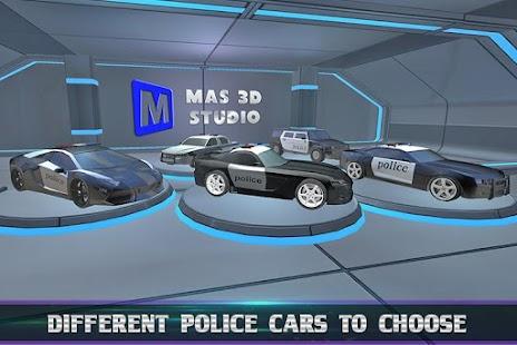 Police Car Chase: Unbeatable screenshot