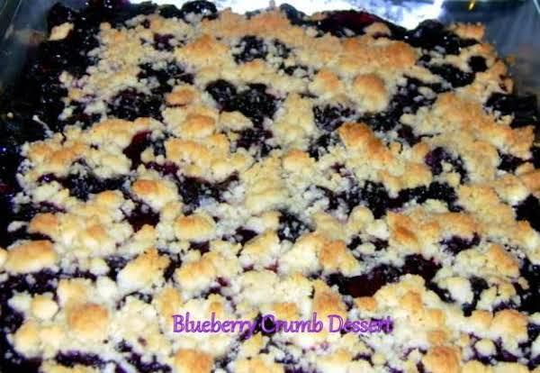 ~ Blueberry Crumb Dessert ~