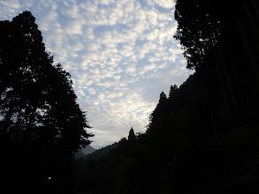 うろこ雲(天気が悪くなる兆しか)