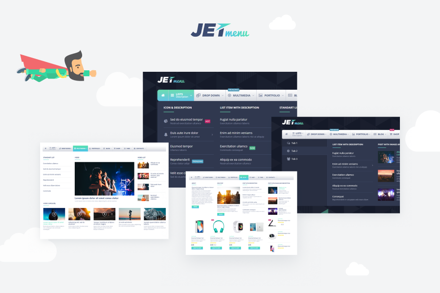 JetMenu Free Mega Menu for Elementor Page Builder Download