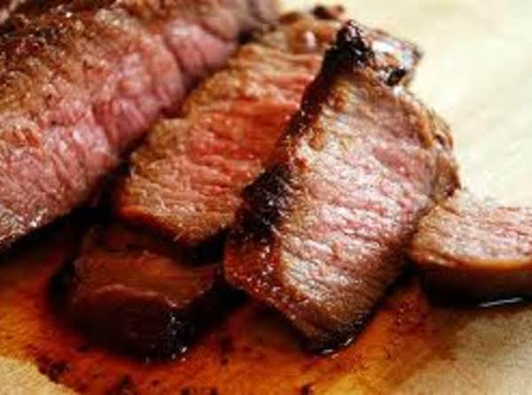 London Broil With Raspberry-balsamic Sauce Recipe