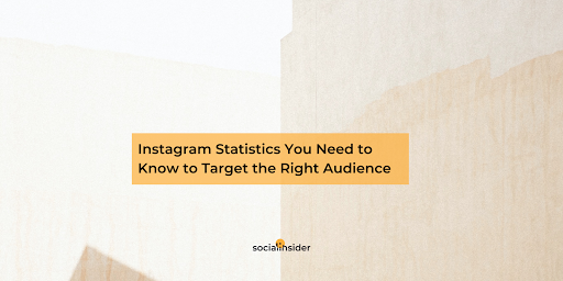 Instagram Statistics You Need to Know to Target the Right Audience in 2021