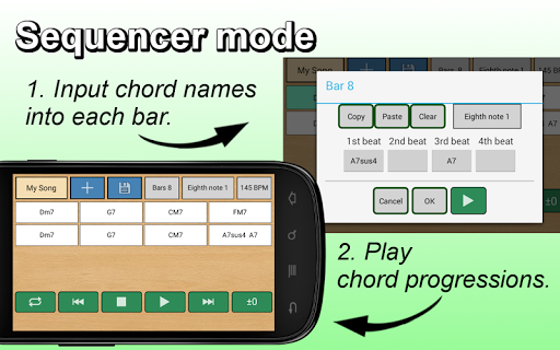 Guitar Chords Player 5.1.1 screenshots 2