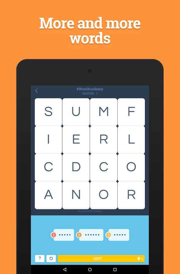 Word Academy- screenshot