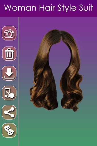 Woman Hair Style Photo Suit