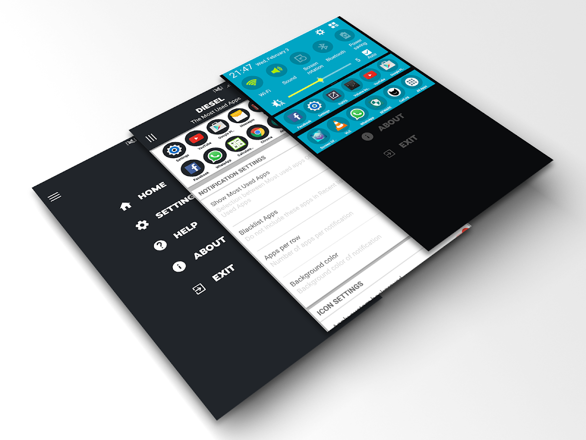 DIESEL : App Switcher- screenshot