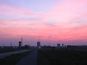 Photo: al tramonto