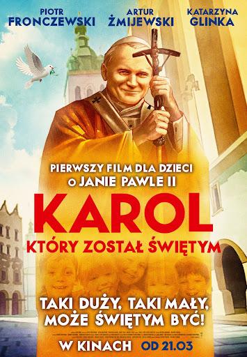 Polski plakat filmu 'Karol, Który Został Świętym'