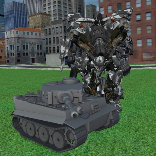 Tank Robot Battle
