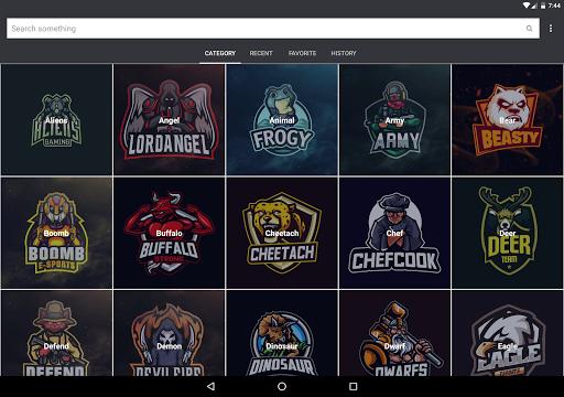 Gaming Logo Design Ideas eSport 2020 2.1 screenshots 9