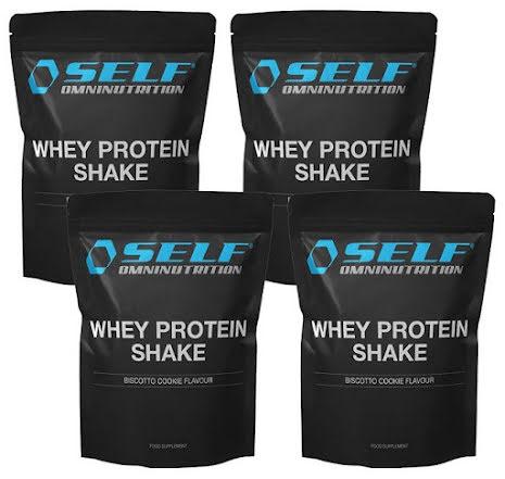 4 X Whey Protein Shake 1kg