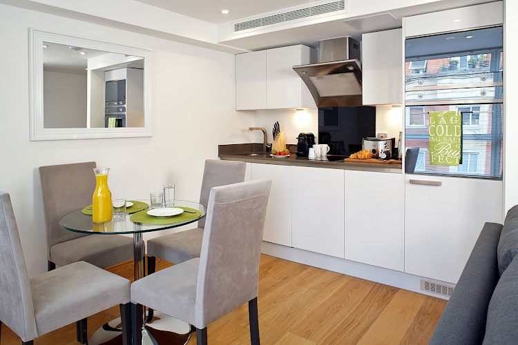 Equipped Kitchen at Oakwood Marylebone